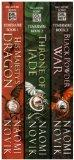 His Majesty's Dragon: Book 1 / Throne of Jade: Book 2 / Black Powder War: Book 3 (Temeraire ...