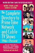 Complete Directory to Primetime Network and Cable Shows, 1946-present