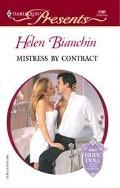 Mistress by Contract - Helen Bianchin - Mass Market Paperback