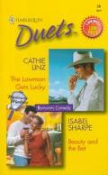 Lawman Gets Lucky - Beauty and the Bet - Cathie Linz - Mass Market Paperback - 2 BKS IN 1