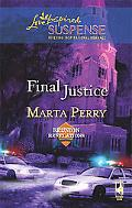 Final Justice (Love Inspired Suspense Series)