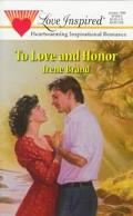 To Love and Honor - Irene Brand - Mass Market Paperback