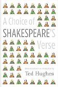 Choice of Shakespeare's Verse