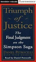 Triumph of Justice: Closing the Book on the Simpson Saga (4 Cassettes) - Peter Knobler - Aud...
