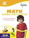 Kindergarten Math Games & Puzzles (Sylvan Workbooks) (Math Workbooks)