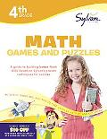 Fourth Grade Math Games & Puzzles (Sylvan Workbooks) (Math Workbooks)
