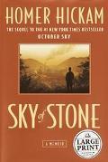 Sky Of Stone A Memoir