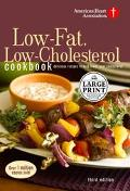 American Heart Association Low-Fat, Low-Cholesterol Cookbook Delicious Recipes to Help Lower...