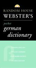Random House Webster's Pocket German Dictionary