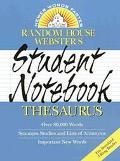 Random House Webster's Stud.ntebk.thes.