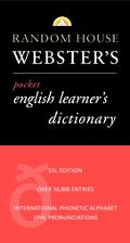 Random House Webster's Pocket English Learner's Dictionary