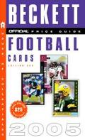Official Beckett Price Guide to Football Cards 2005