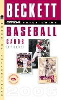 Official Beckett Price Guide to Baseball Cards 2006