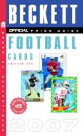 Official Beckett Price Guide to Football Cards 2007