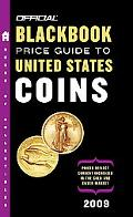 The Official Blackbook Price Guide to Us Coins 2009, 47th Edition
