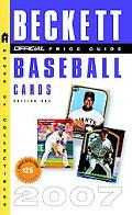 Official 2007 Price Guide to Baseball Cards