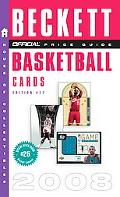 Official 2008 Beckett Price Guide to Basketball Cards