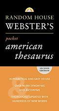 Random House Webster's Pocket American Thesaurus, Second Edition