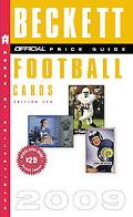 The Official Beckett Price Guide to Football Cards 2009, Edition #28