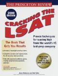 Cracking the LSAT, 2000 (Princeton Review Series) - Princeton Review - Paperback - 2000 ED