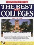 The Best 331 Colleges, 2000 Edition (Princeton Review Series) - Edward T. Custard - Paperback