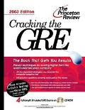 Cracking the Gre,2003-w/tests