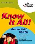 Know It All! Grades 9-12 Math