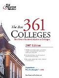 Princeton Review The Best 361 Colleges, 2007