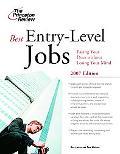 Best Entry-Level Jobs 2007