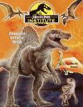 Jurassic Park Institute Dinosaur Sticker Book