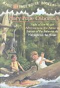 Magic Tree House Books #5-8 Night of the Ninjas/Afternoon on the Amazon/Sunset of the Sabert...