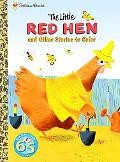 Little Red Hen and Other Stories to Color