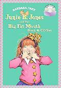 Junie B. Jones and Her Big Fat Mouth Book & CD Set