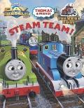 Steam Team! (Thomas and Friends) (Reusable Sticker Book)