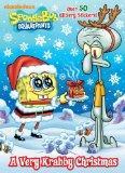 A Very Krabby Christmas (SpongeBob SquarePants) (Glitter Sticker Book)