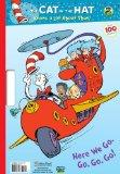 Here We Go, Go, Go, Go! (Seuss/Cat in the Hat) (Giant Coloring Book)