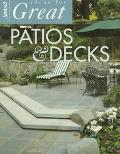 Ideas for Great Patios and Decks - Sunset Books, Inc. - Paperback