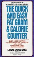Quick and Easy Fat Gram & Calorie Counter