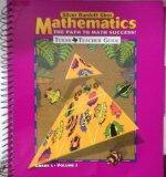 The Path to Math Success, Texas Teacher's Guide, Grade 5, Volume 2 (Silver Burdett Ginn Math...