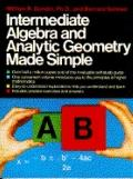Intermediate Algebra and Analytic Geometry Made Simple - William R.,Ph.D. Gondin - Paperback