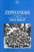 Zephaniah, Vol. 25 - Adele Berlin - Hardcover - 1st ed