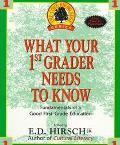 What Your First Grader Needs to Know: The Fundamentals of a Good First Grade Education