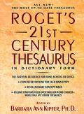Roget's 21st Century Thesaurus - Barbara Ann Kipfer - Hardcover