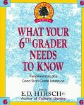 What Your Sixth Grader Needs to Know: Fundamentals of a Good Sixth-Grade Education, Vol. 6
