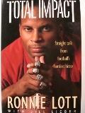 Total Impact: Straight Talk from Football's Hardest Hitter - Ronnie Lott - Hardcover - 1st ed
