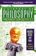 History of Philosophy Greece and Rome