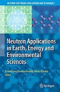 Neutron Applications in Earth, Energy and Environmental Sciences, Vol. 88