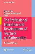 Professional Education and Development of Teachers of Mathematics: The 15th ICMI Study