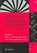 Graphy Theory, Combinatorics And Algorithms Interdisciplinary Applications
