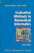 Evaluation Methods in Medical Informatics